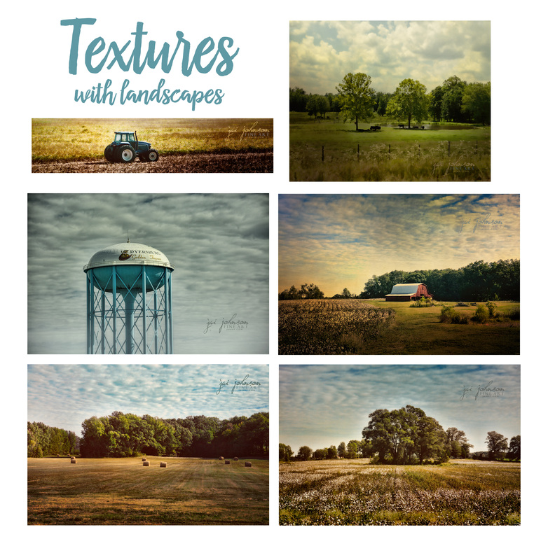 Using Textures With Landscapes